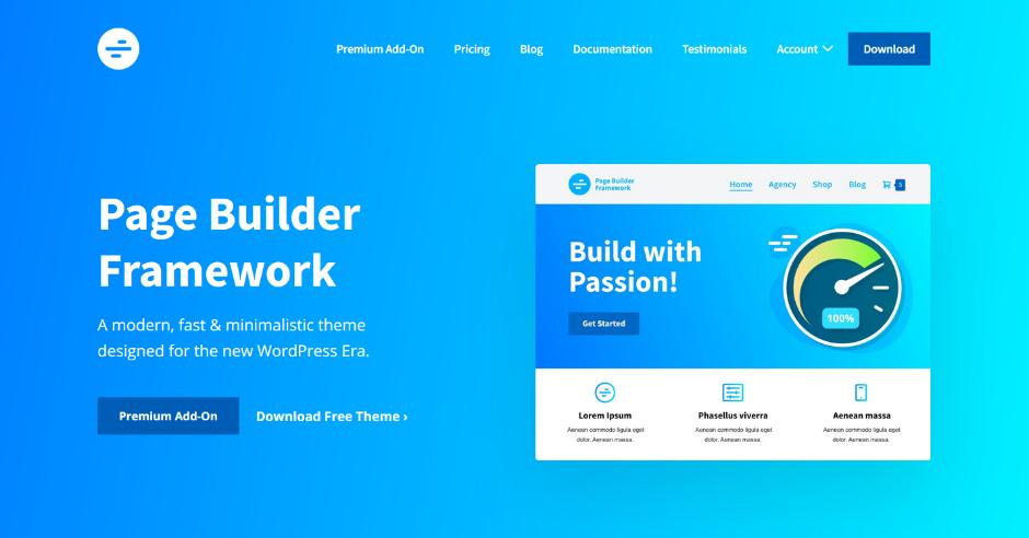 Changelog - Page Builder Framework